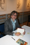 Michael Chabon at the book signing.