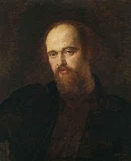 An example of a portrait by G.F. Watts (this of Dante Gabriel Rosetti, painted circa 1871)