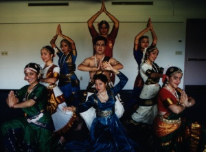 Indian dancers at Natyanjali Festival 2001