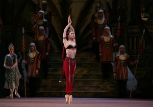Svetlana Zakharova as Nikiya in La Bayadere