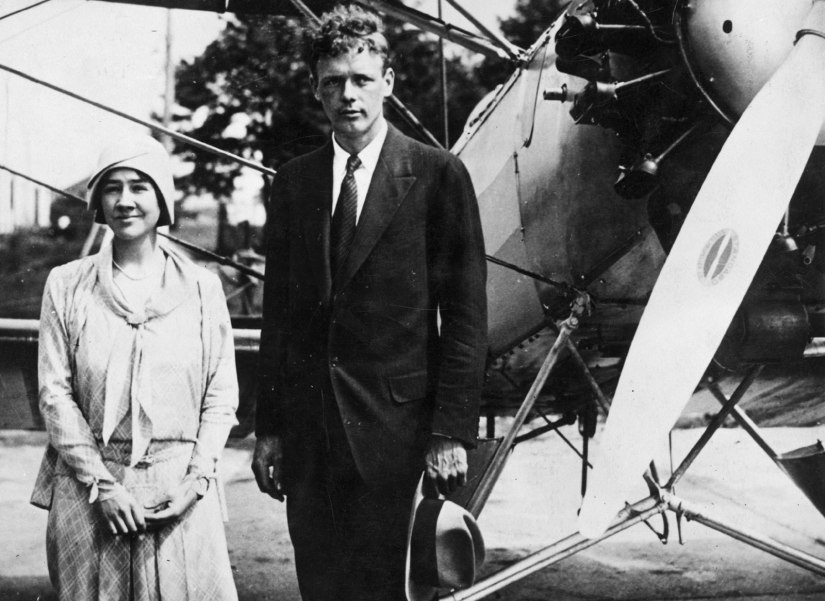 Anne and Charles Lindbergh. Photo credit: Hulton Archive/Getty Images
