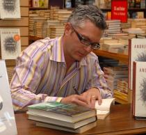 Andrew Pyper. Photo by Don Denton, LiteraryPhotographer.com