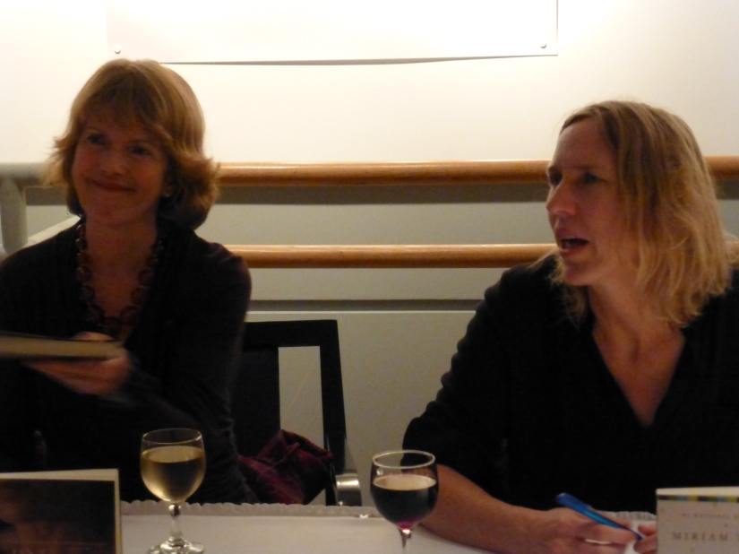 Jane Urquhart and Miriam Toews