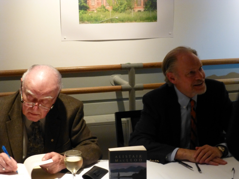 Alistair MacLeod and Douglas Gibson