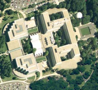 CIA Headquarters. Image from GlobeXplorer.