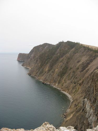 Khuzhir, Olkhon Island. Photo from http://apps.carleton.edu/