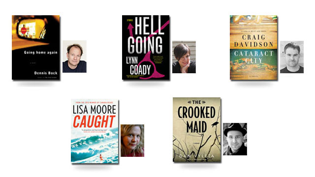 2013 Giller short list. Image from CBC.