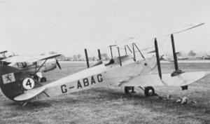 De Havilland DH 60G Gipsy Moth. Photo from http://www.johnjohn.co.uk/